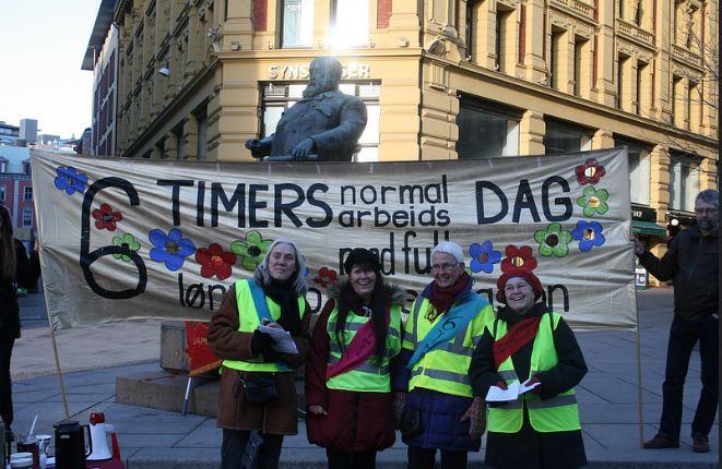 Spørsmål og svar; til Mette Nord om sekstimersdagen på LO-kongressen